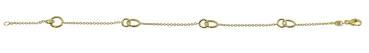 Modernes 585 Gold Armband 372092191