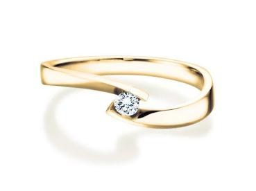 Verlobungsring Twist Petite 495170
