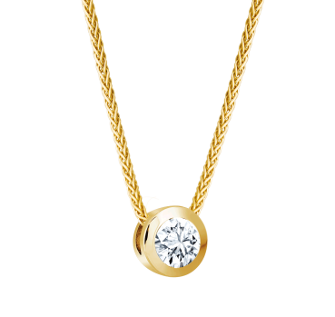 Giloy Brillantsolitär Collier EH000128
