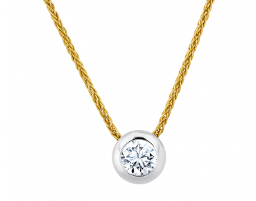 Giloy Brillantsolitär Collier EH000134