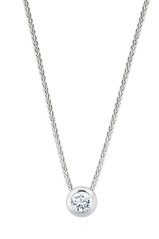 Giloy Brillantsolitär Collier EH000735-W