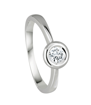 Giloy Brillantsolitär Ring EH002627-W