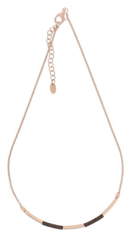 Collier Shiny Polvere marrone WPLVE1736